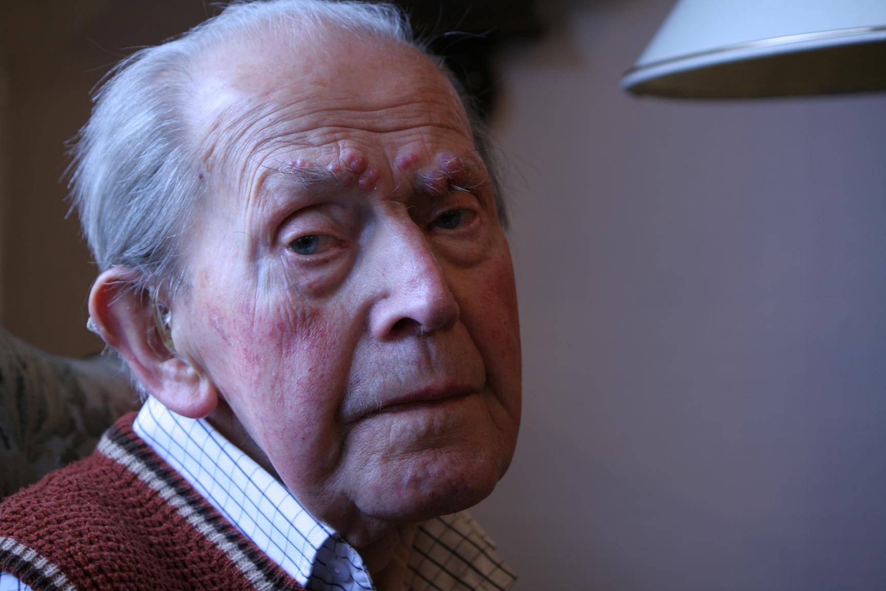 99 år gamle Ole Jæger er lamslått.