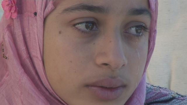 Gazas tårer er en sterk, subjektiv og manipulerende film, satt i skyggen av sirkus Løkkeberg.  (Foto: Norsk filminstitutt)